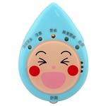 見守り熱中症計(風邪ひき指数・温湿度計付き)/DE-6914-BL/ブルー/