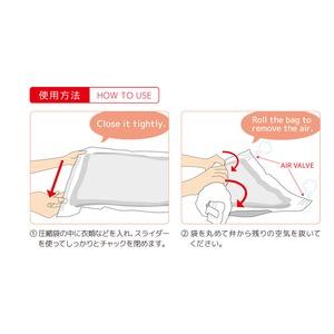 ミヨシ(MCO) 衣類圧縮袋 赤富士 2枚入り MBZ-JA/RD 【5個セット】