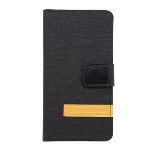 ミヨシ(MCO) iPhone 7用 4.7インチ スタンドとしても使える手帳型ケース IPC-NB01/BK ブラック