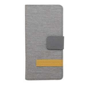 ミヨシ(MCO) iPhone 7用 4.7インチ スタンドとしても使える手帳型ケース IPC-NB01/LG ライトグレー