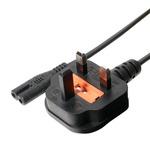 ミヨシ(MCO) 海外対応電源ケーブル BFタイプ 0.6m MBC-TBF/06 【3本セット】