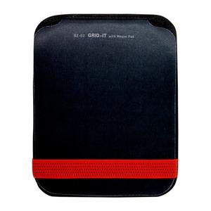 ミヨシ (MCO) GRID IT付 マウスパッド レッド GZ-03/RD