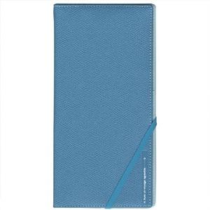 コンサイス スキミングブロックパスポートケース皮革調RライトブルーCO-293248【2個セット】