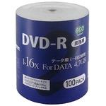 磁気研究所 データ用DVD-R 4.7GB 16倍速 ワイドプリンタブル対応 100枚バルクパッケージ DR47JNP100_BULK4-6P 【6個セット】