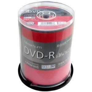 Maximum(磁気研究所) CPRM対応 録画用DVD-R 16倍速対応 100枚 ワイド印刷対応 MXDR12JCP100-5P 【5個セット】