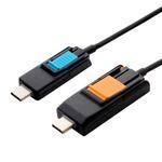 ミヨシ USB Type-C 搭載 4in1変形モバイルケーブル SCB-4T10/BK