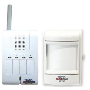 REVEX 人感センサー&携帯受信チャイム REV140