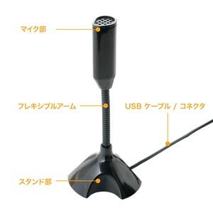 ミヨシ (MCO) USBデジタルマイクロホン ショートタイプ UMF-01/BK