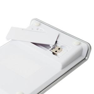 ミヨシ(MCO) 2.4GHz接続 ワイヤレステンキー シルバー TEN24G01/SL
