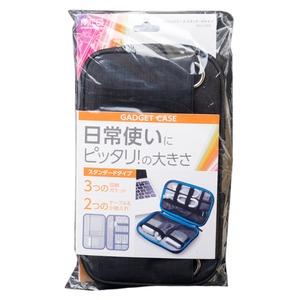 ミヨシ (MCO) ガジェットケース スタンダードタイプ ブラック BAG-GE01/BK