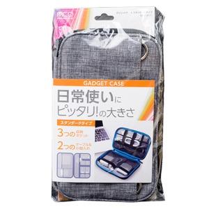 ミヨシ (MCO) ガジェットケース スタンダードタイプ グレー BAG-GE01/GY