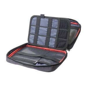 ミヨシ (MCO) ガジェットケース 大容量タイプ ブラック BAG-GE02/BK