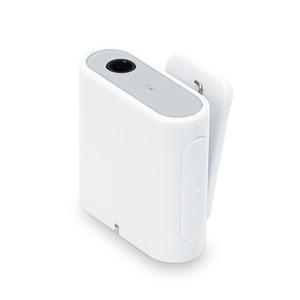 PGA Bluetooth 4.2 搭載 ワイヤレス オーディオレシーバー  1ボタンタイプ ホワイト PG-BTR04WH