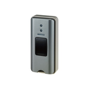 ELPA ワイヤレスチャイム押ボタン送信器グレー EWS-P31