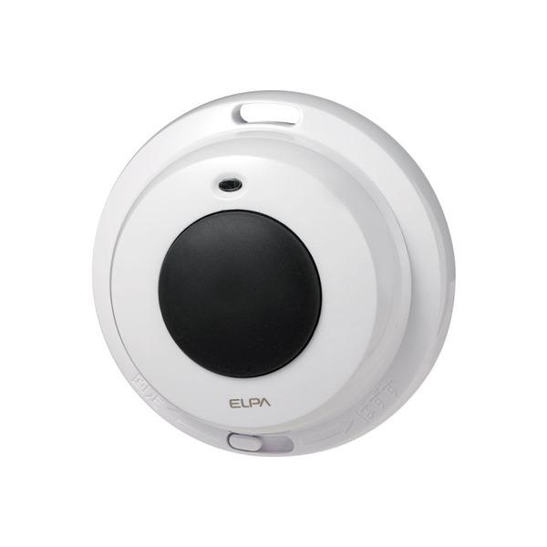 ELPA ワイヤレスチャイム防水押ボタン送信器 EWS-P32