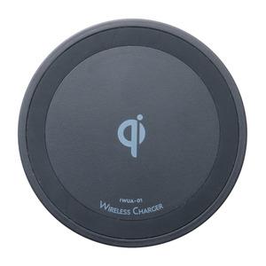 ミヨシ Qi対応 5W出力タイプ ワイヤレス充電アダプタ AC充電器セット ブラック IWUA-01/BK