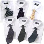 ワイシャツ6枚・ネクタイ6本・ソックス6足のセット品