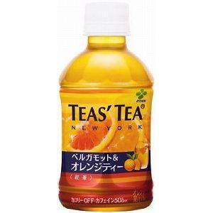 伊藤園 TEA'S TEA ベルガモット&オレンジティー 280ml 48本セット