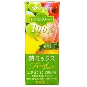 伊藤園 ビタミンフルーツ 熟ミックス 200ml 48本セット