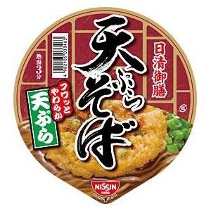 日清食品 日清御膳 天ぷらそば 36個セット