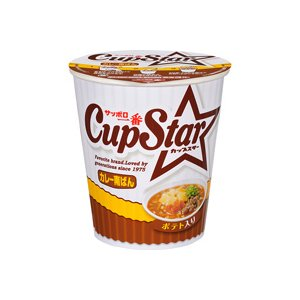 【ケース販売】 サンヨー食品 サッポロ一番 カップスター カレー南ばん 84g 36個セット まとめ買い - 拡大画像