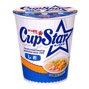 サンヨー食品 サッポロ一番 カップスター しお 77g 36個セット