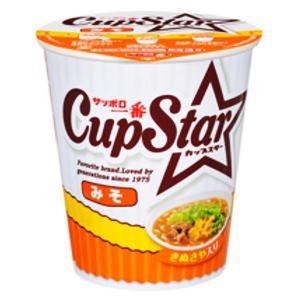 【ケース販売】 サンヨー食品 サッポロ一番 カップスター みそ 79g 36個セット まとめ買い - 拡大画像