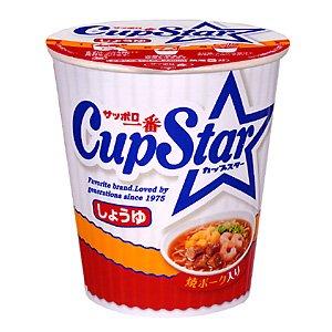 【ケース販売】 サンヨー食品 サッポロ一番 カップスター しょうゆ 71g 36個セット まとめ買い - 拡大画像