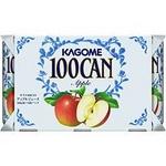 カゴメ(KAGOME)100CAN アップル 160g缶X60本セット