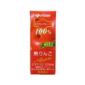 伊藤園 ビタミンフルーツ 熟りんご 紙パック 200ml 48本セット - 拡大画像