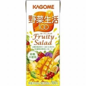 カゴメ 野菜生活100 フルーティサラダ 200ml 72本セット