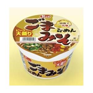 【ケース販売】 大黒食品 マイフレンド ビックごまみそラーメン 105g 36個セット まとめ買い - 拡大画像