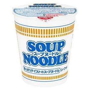 日清食品 スープヌードル シーフード 61g 40個セット - 拡大画像