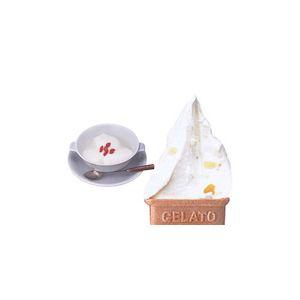 業務用アイス キャラメルクッキー&杏仁セット (2L×2 計4L)