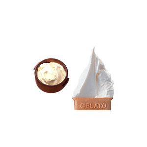業務用アイス 北海道クリームチーズ&杏仁セット (2L×2 計4L)