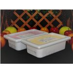 業務用アイス 北海道クリームチーズ&むらさきいもセット (2L×2 計4L) 画像3