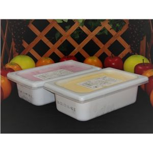業務用アイス むらさきいも&夢の宝石箱ストロベリーセット (2L×2 計4L)