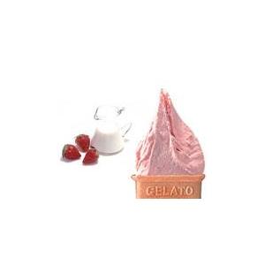 業務用アイス ゆず&イチゴミルクセット (2L×2 計4L)