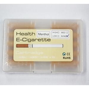 eシガレット カートリッジ メンソール - 拡大画像