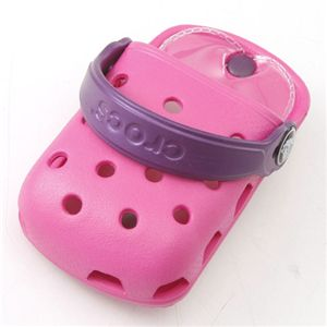 crocs(クロックス) オーダイアル携帯ケース ODial:フューシア/パープル 【同色2個セット】