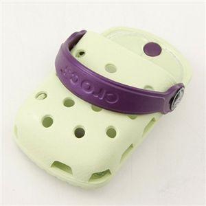 crocs(クロックス) オーダイアル携帯ケース ODial:セロリ/パープル 【同色2個セット】