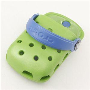 crocs(クロックス) オーダイアル携帯ケース ODial:ライム/シーブルー 【同色2個セット】
