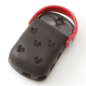 crocs(クロックス) オーダイアル携帯ケース Mickey ODial:ブラック/レッド 【同色2個セット】