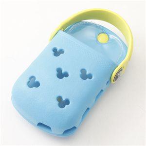 crocs(クロックス) オーダイアル携帯ケース Mickey ODial:ブルー/シトラス 【同色2個セット】