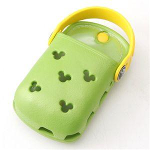 crocs(クロックス) オーダイアル携帯ケース Mickey ODial:ライム/イエロー 【同色2個セット】