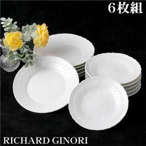 RICHARD GINORI(リチャードジノリ) ベッキオホワイト 13cm プレート 6枚組 - 拡大画像