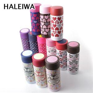 HALEIWA(ハレイワ) マグボトル 350ml CheckHeart Brown - 拡大画像