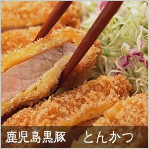 鹿児島黒豚 輝北豚 とんかつ用(単品) ロース500g