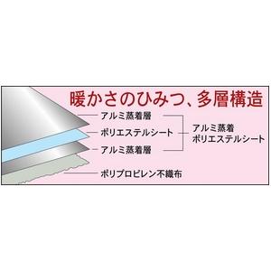 暖かいアルミ保温シート シングルサイズ