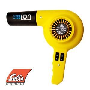 Solis(ソリス) ハンドドライヤー イオンテクノロジー 311 イエロー 【業務用】 - 拡大画像